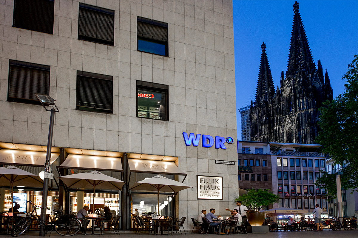 Funkhaus Café – Bar – Restaurant in Köln am Dom